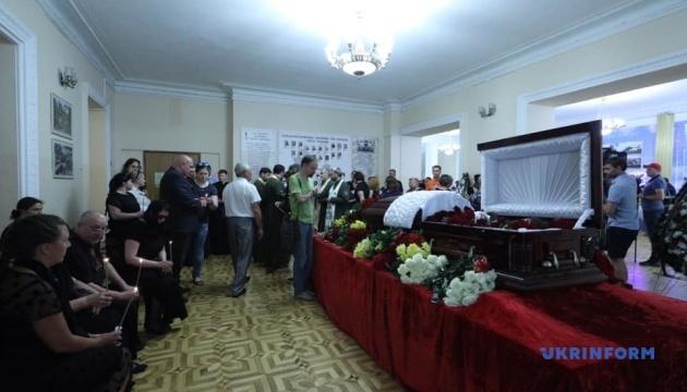 В Киеве прощаются с Дмитрием Тымчуком