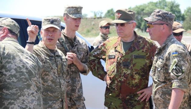 La delegación militar de la UE visita Donbás (Fotos, Vídeo)