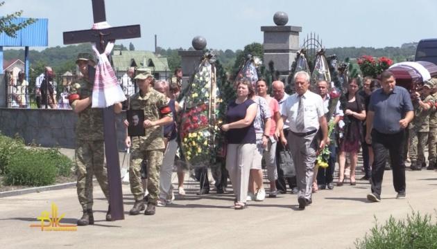 В Бердичеве похоронили Дмитрия Тымчука