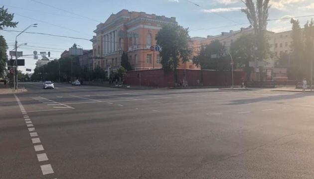 Центр столиці перекрили через