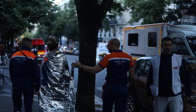 У центрі Парижа під час пожежі загинули троє людей, ще 28 постраждали