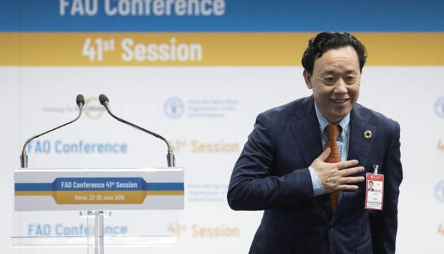 Продовольчу організацію ООН очолив китаєць