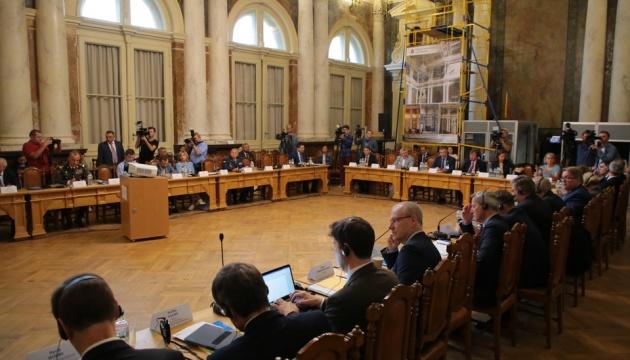 Parlamentarischer Rat Ukraine – Nato tagt in Lwiw - Fotos