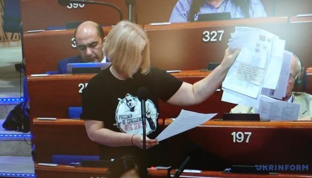 Ірина Геращенко: Повернення Росії до ПАРЄ руйнує принципи Європи