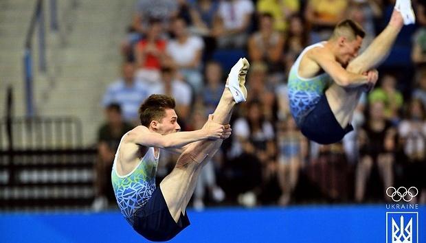 Gimnastas de trampolín ucranianos ganan la plata en los Juegos Europeos 2019