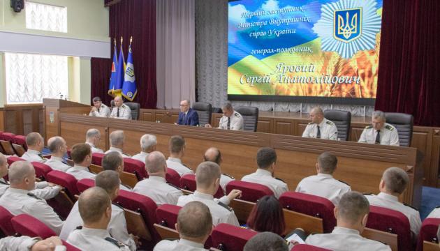 Яровий представив новопризначених заступників командувача Нацгвардії