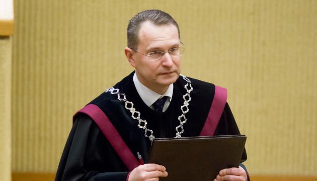 В отношении судей КС Беларуси нужно ввести санкции - глава Конституционного суда Литвы