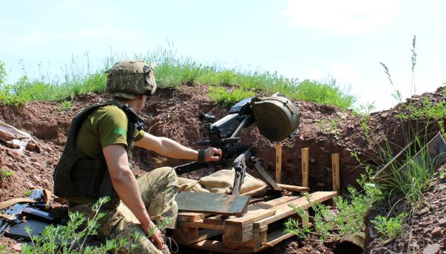 На Донбасі окупанти 9 разів порушили