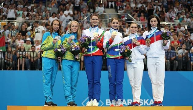 Ucrania mantiene el 4 lugar después de la cuarta jornada de los Juegos Europeos