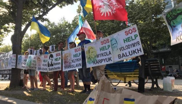 У Німеччині відбулася акція на підтримку українських заручників у Росії
