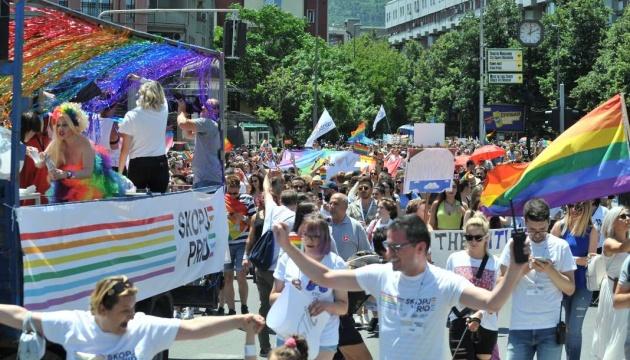 У Північній Македонії вперше відбувся ЛГБТ-парад