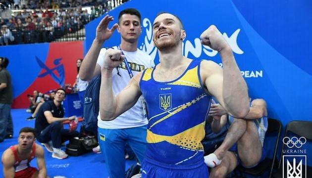 体操のオレフ・ヴェルニャエフ選手、欧州大会で金メダル