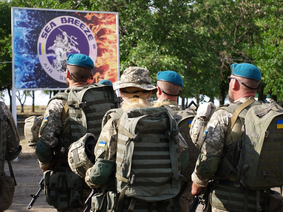 Large-scale military exercises Sea Breeze 2019 kick off in Odesa