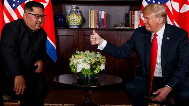 Кім Чен Ин та Дональд Трамп / Фото з відкритих джерел
