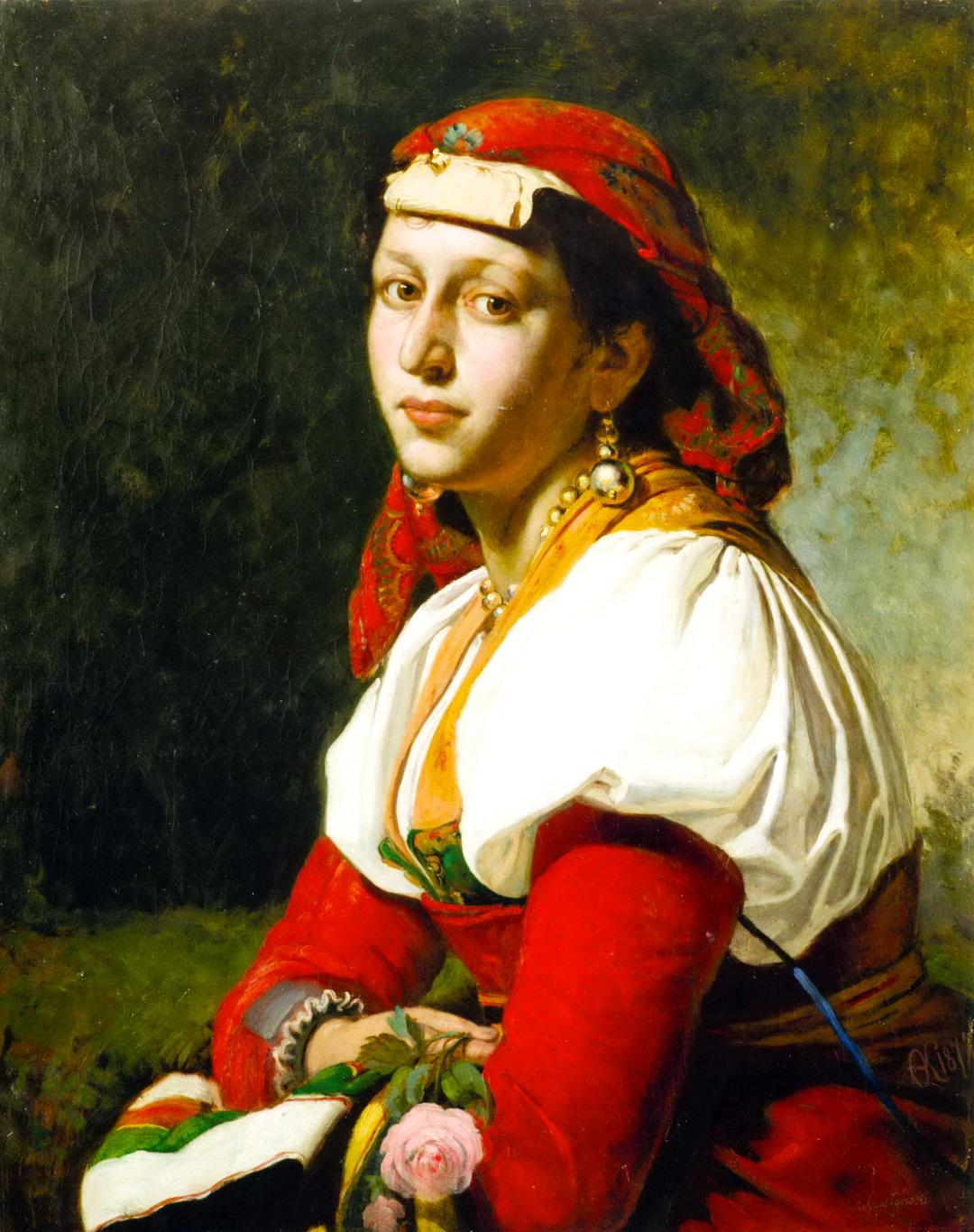 Далматинка., 1872 р