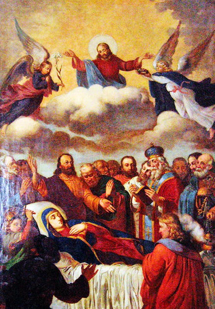 Ікона Успіння Пресвятої Богородиці, 1875