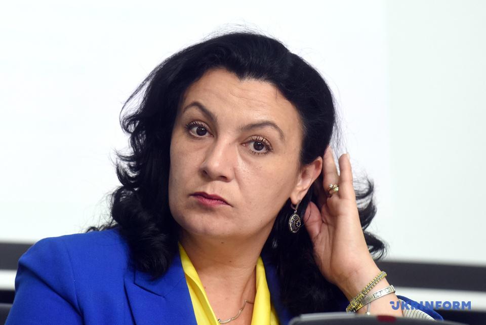 Іванна Климпуш-Цинцадзе, віце-прем'єр з питань європейської інтеграції України