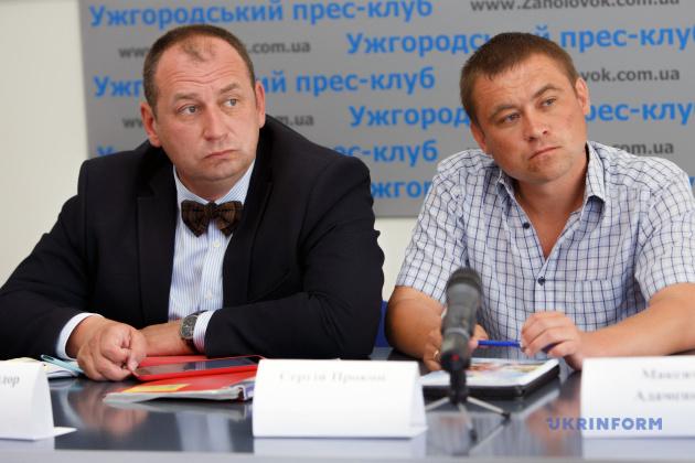 Федір Шандор та Сергій Прокоп