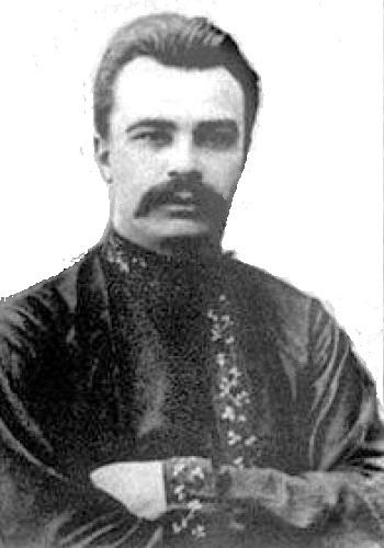 Володимир Винниченко у вишиванці