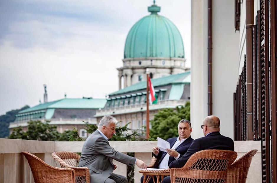Зустріч Віктора Орбана та Василя Брензовича, Будапешт, 12 липня 2019 року