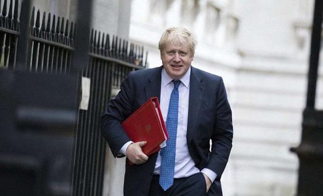 ジョンソン英国首相 写真:ラジオ・スヴォボーダ通信