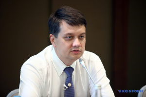 Razumkov: President not to put pressure on Parliament