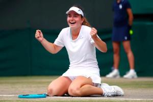 L'Ukrainienne Daria Snigur remporte le titre junior de Wimbledon 2019 (vidéo)