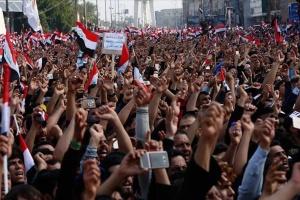 На мітингах в Іраку загинули п'ятеро людей, близько сорока - поранені