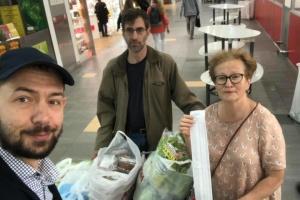 Цимбалюк та Івлєва сьогодні передадуть продукти полоненим в РФ морякам