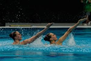 Украинские синхронистки вышли в финал чемпионата мира в произвольной программе дуэтов
