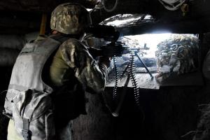 Окупанти на Донбасі застосовують міномети, один військовий загинув, двоє поранені