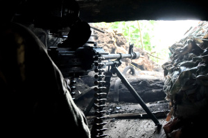 Invaders launch two attacks on Ukrainian troops near Shyrokyne
