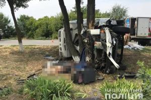 Під Запоріжжям вантажівка влетіла у легковик, є загиблий