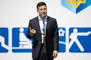 Ukraine should win right to host Olympic Games - Zelensky
