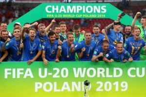 Президент ФИФА в письме поздравил сборную Украины U20 с победой на чемпионате мира