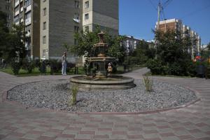 В Дарницком районе появился новый сквер