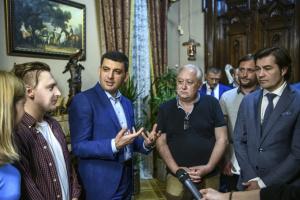 Гройсман: 76 українських фільмів вже відзняли, 72 - у роботі