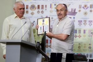 Награждение государственных служащих Украины