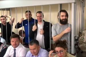 Москві передали клопотання про особисте зобов'язання Денісової щодо 24 моряків