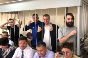 Ще п'ятьом українським морякам відмовили в апеляції на арешт