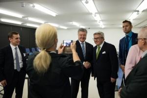 Порошенко у Страсбурзі зустрівся з 30 євродепутатами