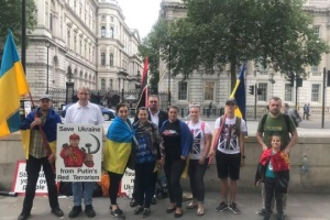 Ukrainians in London honour memory of MH17 crash victims. Photos, video