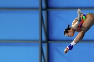 Виктория Кесарь вышла в финал чемпионата мира в прыжках в воду с 3-метрового трамплина