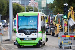 В Таллинне на полгода запустят автобус-беспилотник