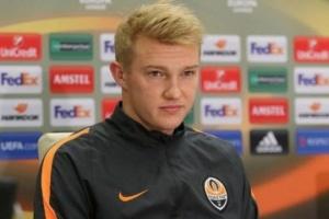 """Футболіст """"Шахтаря"""" Коваленко вирішив змінити свій ігровий номер"""