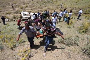 У Туреччині розбився автобус з мігрантами: 16 загиблих
