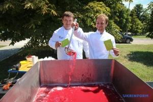 На Херсонщині завдяки кизилу встановили кулінарний рекорд України