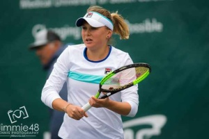 Екатерина Козлова снялась с теннисного турнира в Юрмале