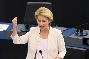 La presidenta electa de la Comisión Europea aboga por mantener las sanciones contra Rusia