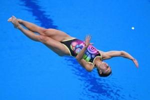 Кесарь заняла 11 место на чемпионате мира в прыжках в воду с 3-метрового трамплина